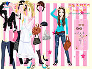 Chic Dress Up game