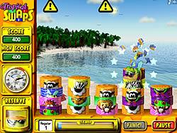 Tropical Swaps game