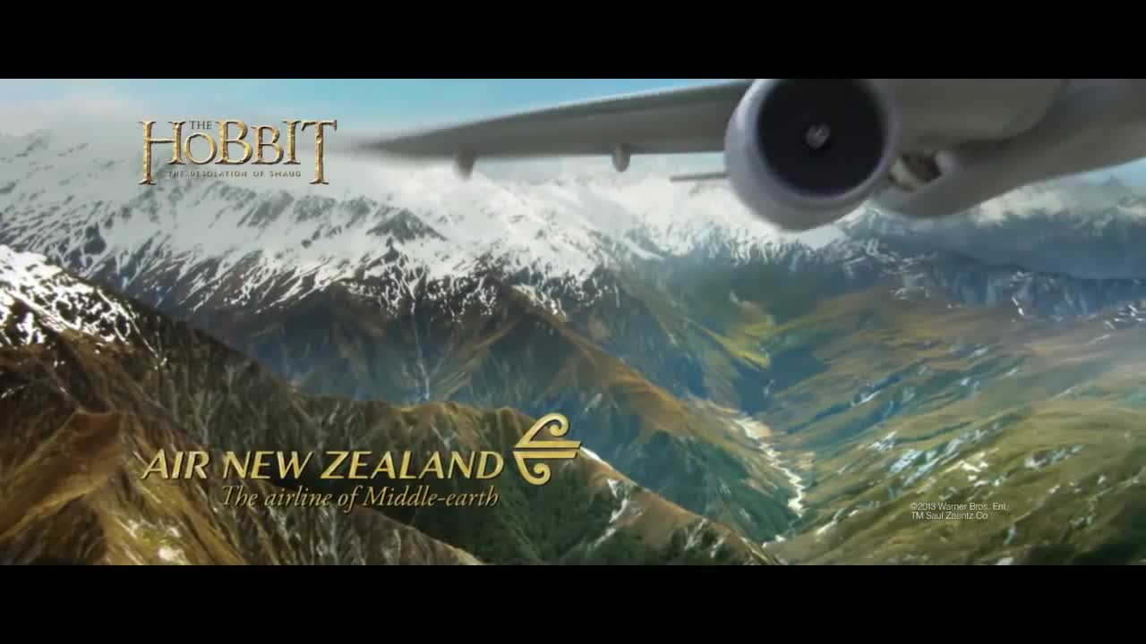 Watch free video Air New Zealand: Just Another Day in Middle-Earth