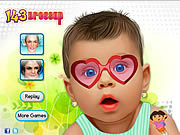 Gorgeous 143 Baby Makeover game