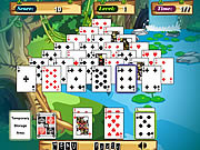 Juega al juego gratis Jungle Solitaire