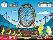Juega al juego gratis Simpsons The Ball of Death