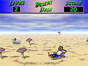 3D Desert Dash game
