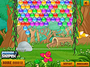 Juega al juego gratis Jungle Bubble
