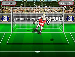 World Cup Shootout game