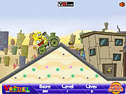 Spongebob BMX game