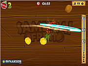 Samurai Fruits game