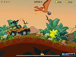 Permainan Dinosaur Truck