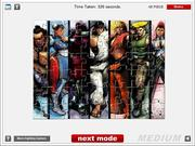 Street Fighter IV Jigsaw game