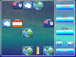 World Flag Memory - 1 game