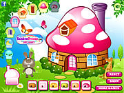 Juega al juego gratis Decorate My Mushroom House