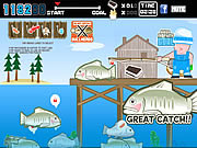 Juega al juego gratis Fish and Serve V2