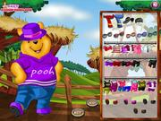 Pooh Dress Up game
