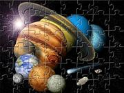 Planets Jigsaw game