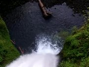 Watch free video Water Fall Looking down