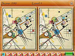 Geometric Differences game