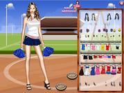 Cheerleader Dress Up Game game