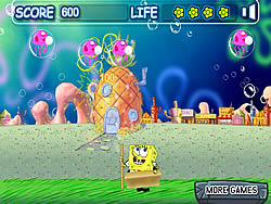 Spongebob Bubble Pop game