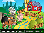 Hidden Numbers Sweet Farm game