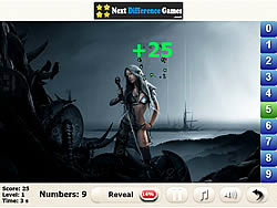 Hot Girls find numbers game
