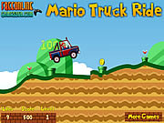 Mario Truck Ride game