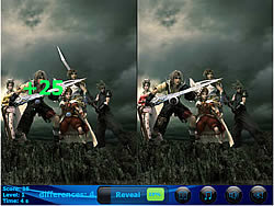 Dream World 5 Differences game