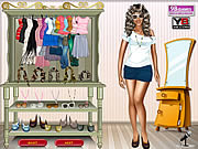 Beyonce Knowles Celebrity Dressup game