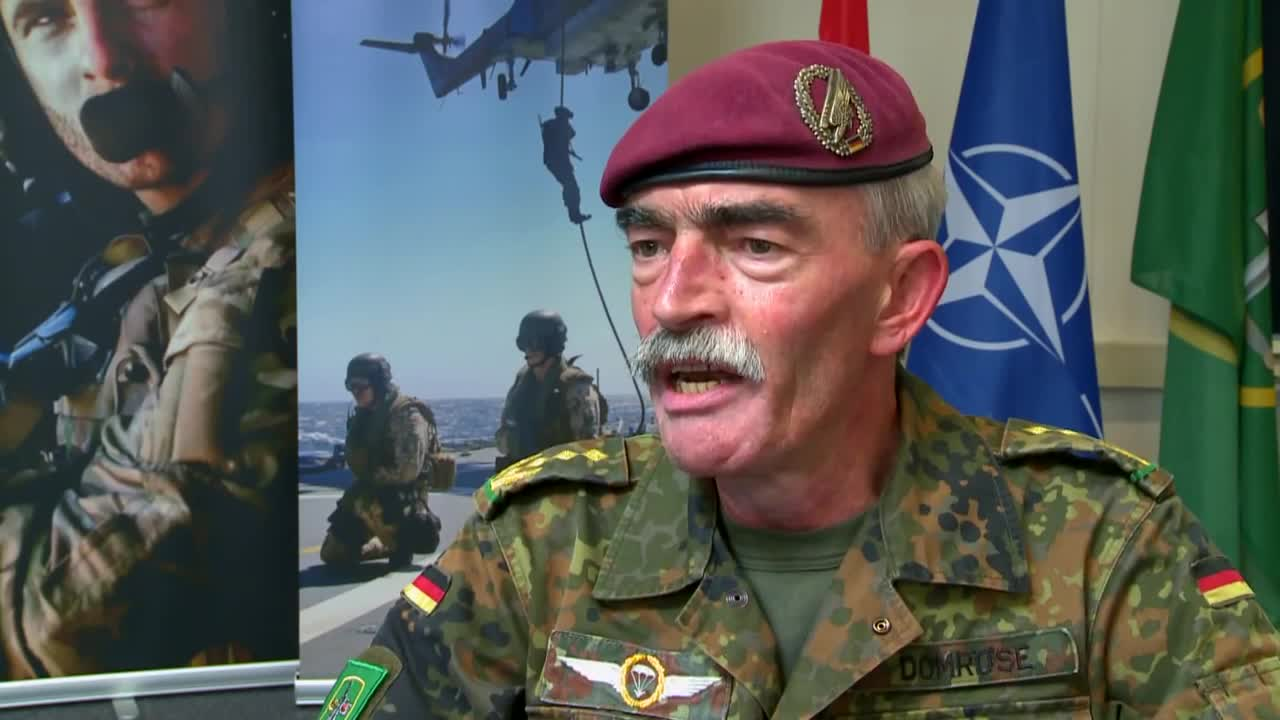 Watch free video The NATO Response Force in Action
