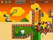 Mario Zombie Bomber game