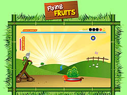 Flying Fruits game