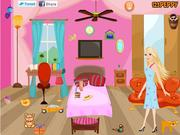 Barbie Bed Room Decor game