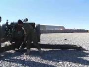 Watch free video Afghan National Army Heavy weapons Training