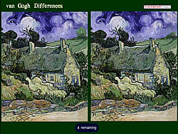 Van Gogh Differences game