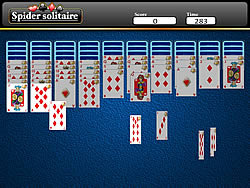 Spider Solitaire Game game
