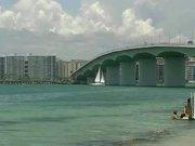Watch free video Sailing Under Sarasota Bridge