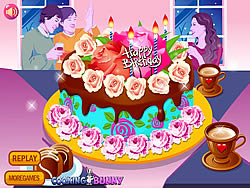 Flower Cake Decoration game