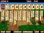 Juega al juego gratis Forty Thieves Solitaire Gold