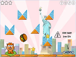 Cat Around The World game