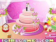 Juega al juego gratis Design Perfect Wedding Cakes