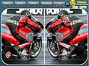 Juega al juego gratis Motoracing - Spot the Difference