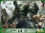 Hulk Hidden Objects game