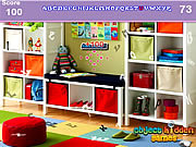 שחקו במשחק בחינם Modern Study Room Hidden Alphabets