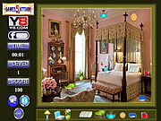 Bed Room Hidden Object game