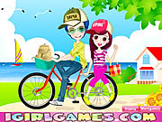 Juega al juego gratis Romantic Bike Lovers