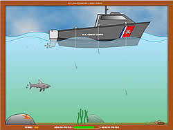 Sharks Attack game