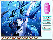 Alone Mermaid Hidden Numbers game