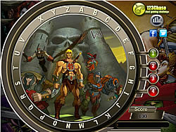 He-Man - Hidden Alphabets game