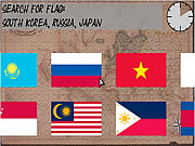 Flags and Countries game
