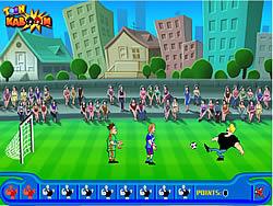 Johnny Bravo Soccer Champ game