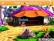 The Nemophila Tent House Hidden Alphabet game